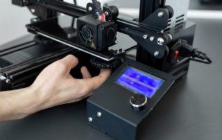 impresión 3D de pelo