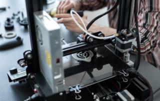 construcción en la impresión 3D